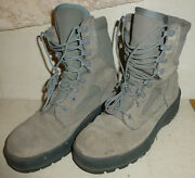 Usaf Suede Sage Green Womanand039s Wellco Boots Size 7.0 Rf Vibram Military Hike Camp