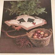 Thimbleberries Pine Tree Skirt Or Table Topper Christmas Quilt Pattern 44andrdquox44andrdquo