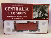 Centralia Car Shops Ccs1026 Illinois Central Red Caboose 9811 Steel Wheels