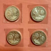 4 1972 Jamaica 10th Anniversary Of Independence 10 Dollars Coin 1962-1972