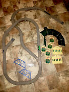 2006 Gullane Thomas Limited Hit Toy Co. Train Track And Station House Parts.