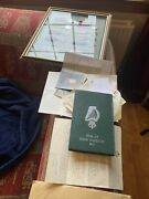 Rare Ww2 Medal Sets To London Irish Casualty And Burma Star Brother Framed Papers