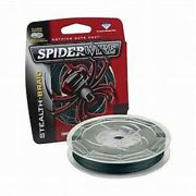 6spiderwire Stealth Braid 50lb 300yds Moss Green 6 Spools-1800yds Total