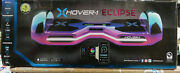 Nisb Xhover-1 Eclipse Dsa-clip-ird Balancing Scooter 8 Wheels, Led, Bluetooth