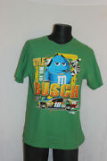 Chase Authentics Green Nascar Kyle Busch 18 M And Mand039s T Shirt Size Large L