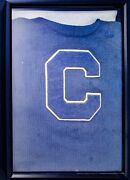 Vintage Catwaba College Salisbury Nc Letter Sweater Shadow Boxed - Pw5