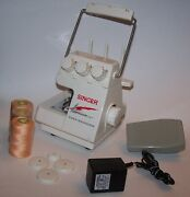 Singer Tiny Serger Model Ts-380 Plus Overedging Portable Sewing Machine