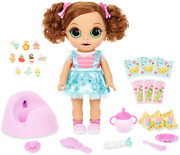 Baby Born Surprise Magic Potty Surprise Green Eyes Andndash Doll Pees Glitter And Poops