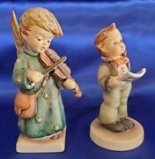 Mint Gobhummel Celestial Musician Christmas Angel Playing Violin And Soloist