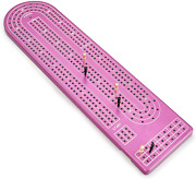 Quality Purple Cribbage Board By Gapple Durable Aluminum Material Precise Pegs