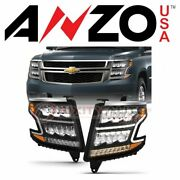 Anzousa Headlight Assembly For 2015-2020 Chevrolet Suburban - Electrical Uo