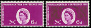 1961 Parliament 6d Sg 629a Variety And039goldand039 Omitted U/m Superb Fresh Of This S