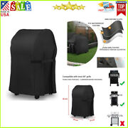 Grill Cover 40-inch Heavy Duty 300d Oxford Waterproof Windproof Uv Resistant New