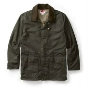 Filson Cover Cloth Mile Marker Coat   Seattle Fit Otter Green S