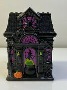 Bath And Body Works Halloween Haunted House Hand Soap/candle Holder Excellent Cond