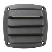 4 Inch New Black Plastic Louvered Vents Boat Marine Parts Vent Grill Cover