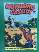 1948 Fawcett Hopalong Cassidy Comic Book 26 Fine+ White Pages