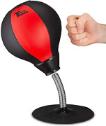 Desktop Punching Bag -suctions To Your Desk Heavy Duty Stress Relief Ball