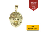 10k Gold Lion Head Pendant 1.5 Grams New With Appraisal