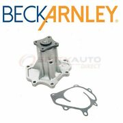 Beck Arnley Engine Water Pump For 2014-2017 Infiniti Qx80 - Coolant At