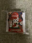 Coca-cola 24th August Daypin Tokyo 2020 Paralympics Opening Ceremony Badge [mo]