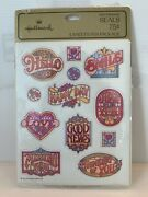 Hallmark Vintage Seals/stickers 1979 New In Pack 4 Sheets Very Rare
