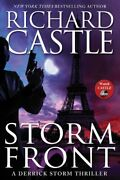 Storm Front Derrick Storm Thrillers By Castle Richard Book The Fast Free