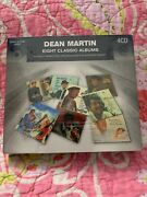 8 Classic Albums By Dean Martin 4 Cd's 9/2013, Real Gone Jazz New Sealed Rare