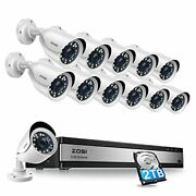 Zosi H.265+ 1080p 16 Channel Security Camera System 16 Channel Dvr Recorder...