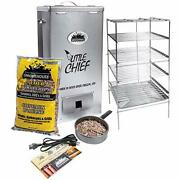 Smokehouse Products Little Chief Top Load Electric Smoker Silver Medium