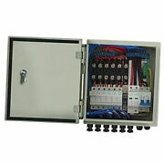 And 63a Circuit Breakers For Solar Panel 6 String Pv Combiner Box