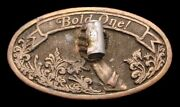 Ni04130 Truly Awesome 1977 Schlitz Malt Liquor W/3-d Can And Hand Beer Buckle