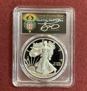 2017-w 2020 1 Silver Eagle Pcgs Pr70dcam Wp Mint Hoard Cleveland Torch