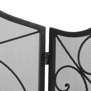 Cut Off The Embers Fireplace Panels Fire Screen For Grills Around Fireplaces