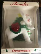 Annalee Snowflake Elephant Ornament Christmas Holiday Collectible Decor New