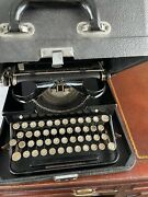 Royal Typewriter 1933 Excellent Condition Comes With Carrying Case And 2 Rolls Ink