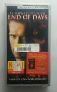 End Of Days Special Edition Vhs Arnold Schwarzenegger New Sealed