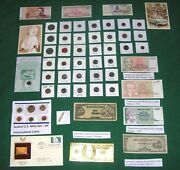 Huge Auction Coins Currency Gold Silver Collectibles