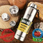 Outdoor Thermos Stainless Steel Portable Double Wall Vacuum Flask Insulated Tumb