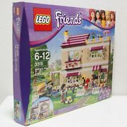 Retired Hard To Find Lego Friends Olivia's House 3315 New In Sealed Factory Box