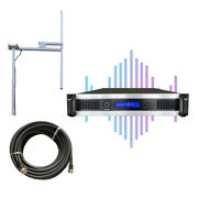 1000w Fm Transmitterfor Broadcast Radio Station + Antenna + Cable