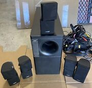 Bose Acoustimass 10 Series Ii Home Theater Speaker System W/5-double Cube Spkrs