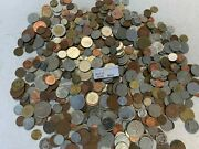5 Lb Of Mixed World Foreign Coin Bonus- Silver Foreign Coin Included - Item B40