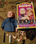 Vintage Kenner Hugo Man Of A Thousand Faces Puppet Alan Ornsby Accessories And Box