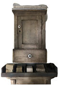 Aafa Early Primitive Prairie Americana Folky Paint General Store Counter Display