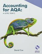 Aqa A Level Year 2 Book By David Cox Highly Rated Ebay Seller Great Prices