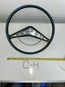 Vintage Chevy Impala 1957 1960 Steering Wheel With Horn Ring