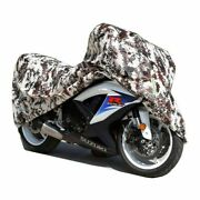 All Seasons Waterproof Motorcycle Cover All Size Outdoor Uv Protector With Lock