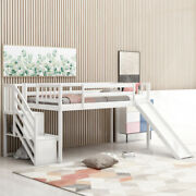 No Spring Box Needed Low Loft Bed For Bedroom Twin Size Saving Space Design Bed