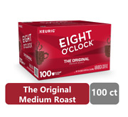 Eight Oand039clock The Original K-cup Coffee Pods Medium Roast 100 Count - Free Ship
